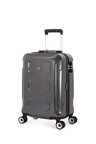 "SwissGear Polycarbonate Black 20"" Hardside Spinner"