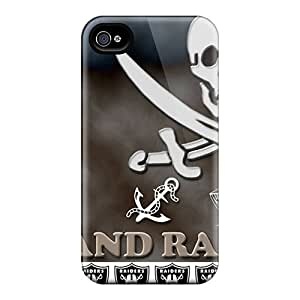 Perfect Hard Cell-phone Cases For Iphone 6 With Unique Design High Resolution Oakland Raiders Pictures KellyLast