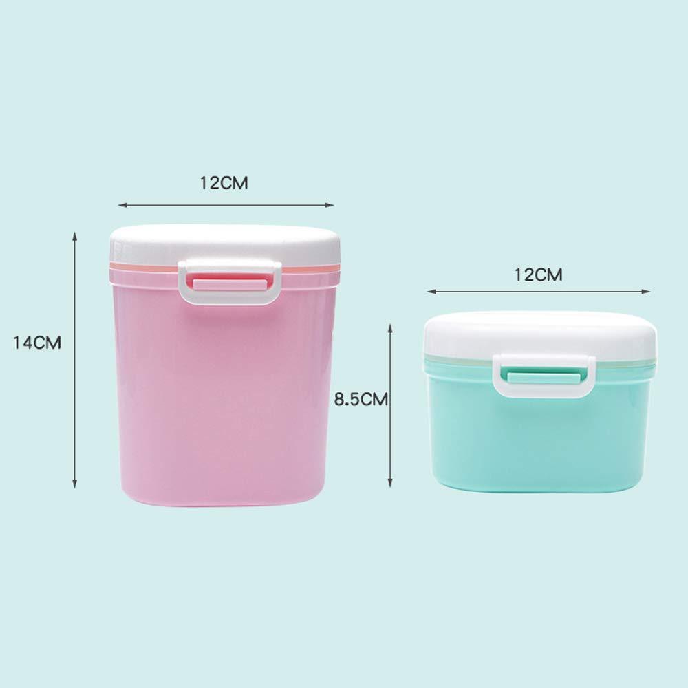 Formula Milchpulver Dispenser mit Scoop Small-900 ml Formel Milch Aufbewahrungsbox Babynahrung T/öpfe Milchpulver Portionierer F/ür Reisen//Nachtpflege BPA-frei