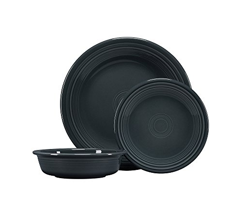 Fiesta 3-pc. Classic Dinnerware Set - 3 Slate Piece