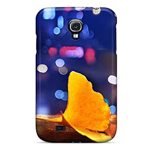 Awesome FOhHhHU6555oedCj AnnetteL Defender Tpu Hard Case Cover For Galaxy S4- Ginkgo Biloba Under The Lights by mcsharks