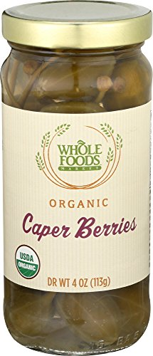 Whole Foods Market, Organic Caper Berries, 4 Ounce