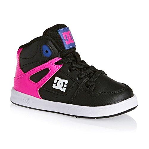 Shoes DC UL Rebound Rose Chaussures pour Bébés mi Hautes ADOS700026 rrRdqH