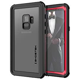 Samsung Galaxy S9 Case Ghostek Nautical Series Dual Layer Waterproof Underwater Swimming Full Body Sealed Hard Heavy Duty Rugged Durable Shock Absorption Drop Protection