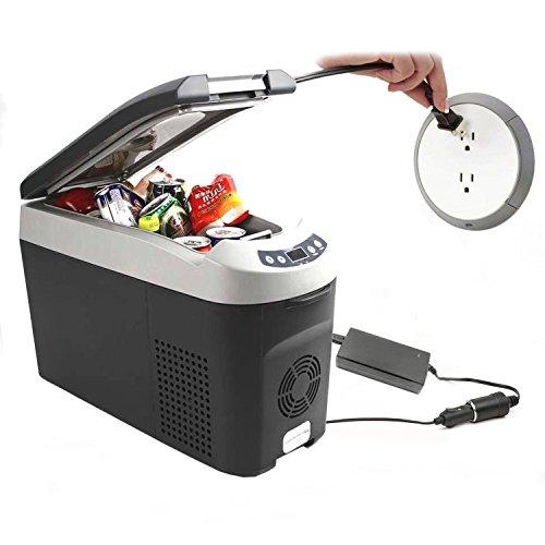 FlyHi AC to DC Converter, 10A 120W 110-220V AC to DC 12V/10A Car Cigarette Lighter Socket AC/DC Power Adapter by FlyHi (Image #2)