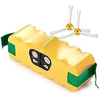 Alliboo 3000mah Replacement Vacumm Battery for iRobot Roomba 500, 600,700, 800 Series R3 500 510 530 531 532 533 535 536 540 545 550 552 560 562 570 580 581 585 595