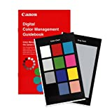 """Canon """"Digital Color Management Guidebook"""" Book with portable Color Chart and Gray Card - for users of Canon EOS Digital SLR Cameras including Digital Rebel and a Canon Pixma Pro Printer such as the PIXMA"""