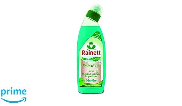 RAINETT Cuidado del producto Gel WC ecológico Menta 750 ml Pack de 3: Amazon.es: Salud y cuidado personal