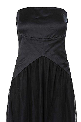 ... Brunello Cucinelli Kleid Damen Schwarz Einfarbig Seide M g1CfVIs ... 39b181e7ce