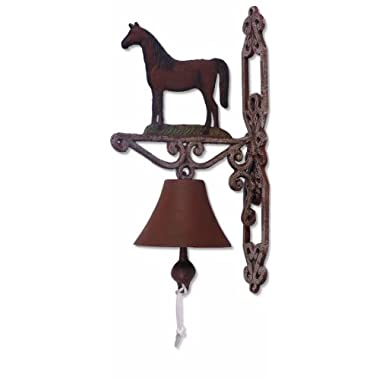 Sunset Vista Designs Painted Cast Iron Bell - Horse
