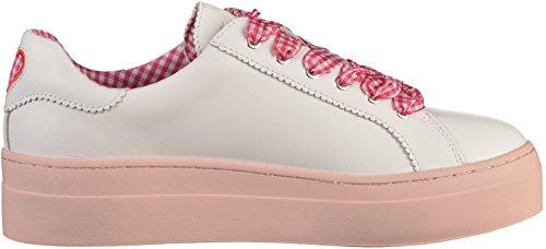 Jaune Baskets Rose Baskets Davichy Jaune Femmes Femmes Davichy R35AL4qj