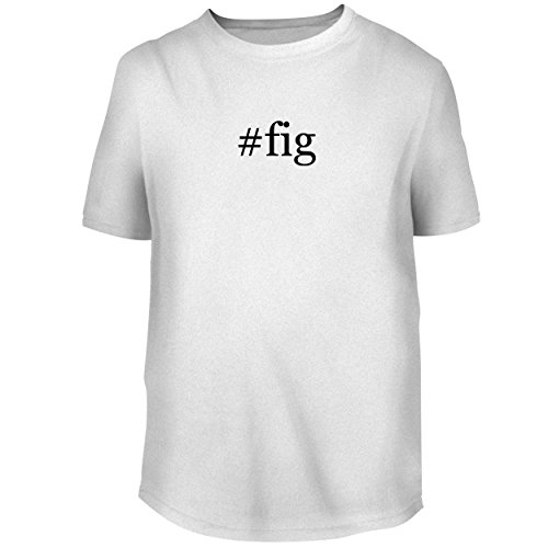 #fig - Men's Graphic Tee, White, Medium