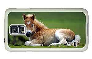 Hipster Samsung Galaxy S5 Case crazy cases white brown Foal PC White for Samsung S5 Kimberly Kurzendoerfer