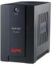 BX500CI منظم اغلاق خلفي 500 فولت - اسود