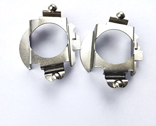 GZXY H7 LED Headlight Bulb Clips Holder Socket Adapter for Mercedes-Benz  C300 C350 Sport CLS Ford Edge Installation 2pcs