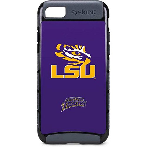 (Skinit LSU iPhone 8 Cargo Case - LSU Tiger Eye Design - Durable Double Layer Phone Cover)