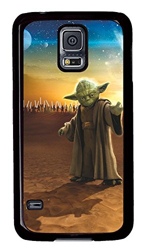 (CASE LOCK LTD - Samsung Galaxy S9 + PLUS case - Special Edtion Black Hard Rubber case for Samsung Galaxy S9 + PLUSSW Master Yoda New Arrival Hard Back Case for Samsung Galaxy S5)