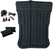 SUV Inflatable Air Mattress, Car Air Bed Inflatable Mattress for SUV, Car Travel Camping Mattress with Free DC