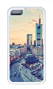 MMZ DIY PHONE CASEFrankfurt Germany cities diy case TPU White for ipod touch 5