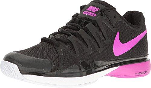 Nike Women's Zoom Vapor 9.5 Tour Black/Hyper Violet/White 631475-002 (9) (Nike Zoom Vapor Shoes compare prices)