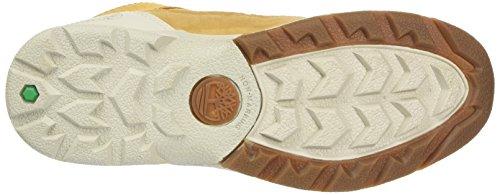 Timberland Kids Kenetic Fabric and Leather Chukka Boots, Braun (Wheat), 36 EU