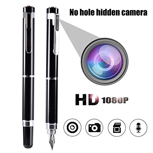 Gadgets 1080P HD Hidden Camera Pen Support?64G Memory +High?Speed?USB?2.0?Interface+ 200mAh high?capacity?rechargeable?Lithium?battery?With LED?Status?Indicator?-Record Executive Multifunction DVR Eas