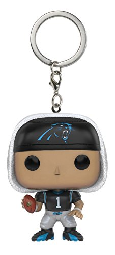 Funko POP Keychain: NFL - Cam Newton Action Figure ()