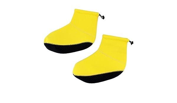 Amazon.com : eDealMax Deportes acuáticos neopreno de natación buceo surf Calcetines voleibol de Arena de natación Zapatos Botines Amarillo L : Sports & ...
