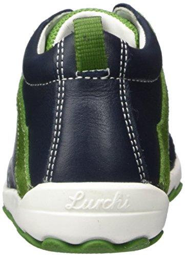 Lurchi Indy, Botas Para Niños Blau (Navy Green)