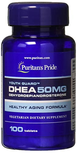 Puritans Pride Dhea 50 Mg Tablets, 100 Count from Puritan's Pride