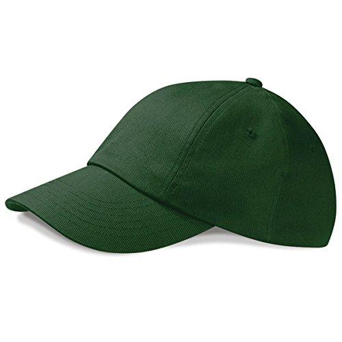 100 oscuro drill Visera de Gorra bajo perfil verde Unisex de Piscina algodón calidad Verano Beechfield primera grueso 8aTSqfS