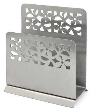 Wedding Gift Boxed Napkin Holder Stainless Steel
