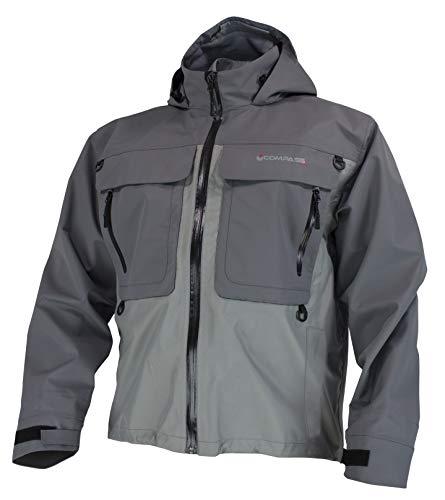 (COMPASS 360 Wayfarer Pro Wading Jacket (XX-Large, Slate & Grey))