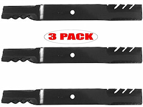 Oregon 96-321 (3 Pack) Exmark Gator Mulcher 3-In-1 High Lift Replacement Lawn Mower Blade 16-1/4-Inch