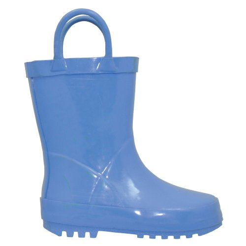 i play. Solid Rubber Rainboots, Blue, Size ()