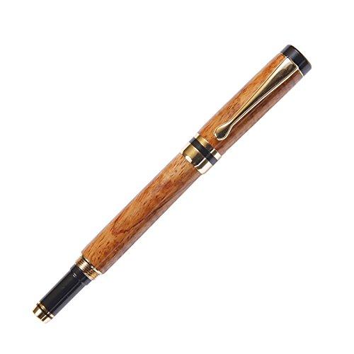 Classic Rollerball Pen - 24kt Gold - Hawaiian Koa by Lanier Pens