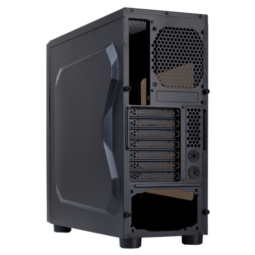Hiditec ALU925 GAMING - Caja de ordenador de sobremesa (3.5 mm, 2 x USB 2.0, USB 3.0), negro: Hiditec: Amazon.es: Informática
