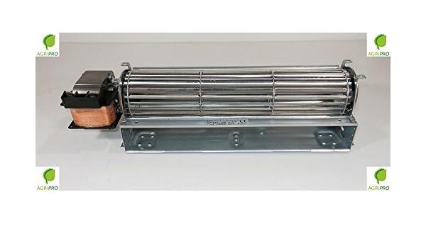 DN 60 - Ventilador tangencial universal con ventilador de 60,5 cm con motor a la izquierda: Amazon.es: Hogar