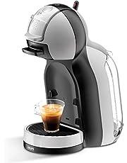 Nescafé Dolce Gusto Mini Me KP123BK Macchina per Caffè Espresso e Altre Bevande, Automatica, Grigio/Nero