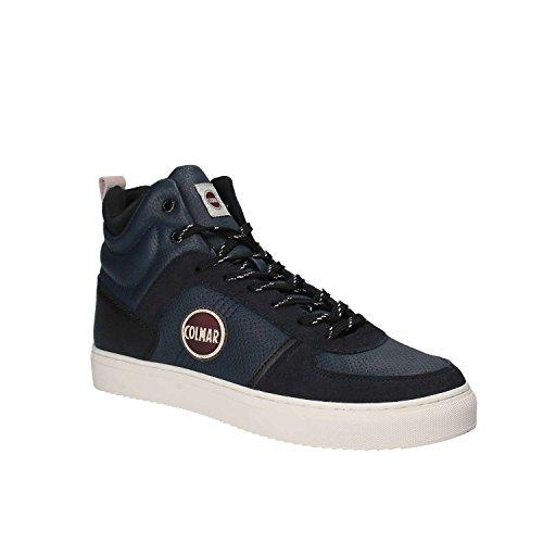 Sneakers Uomo Colmar 43 Blu A Renton Drill Autunno Inverno 2017/18