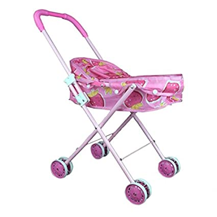 Baby Stroller Simulation Baby Toy Simulation Play Toy Girl Kids Children Pretend Play Furniture Toys Baby Doll Stroller Pram Pushchair Gift