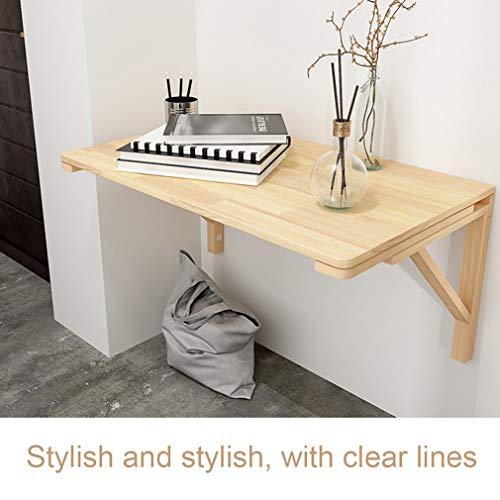 Mlxy fällbart väggmonterat bord, köksbord, väggmonterad arbetsskrivbord, datorskrivbord, enkelt arbetsskrivbord, lämplig för kök, sovrum, vardagsrum 60*50cm/23.5*20in