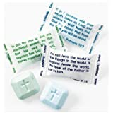 Testamints Mint candy with Scripture wrappers. and imprinted cross 140pcs