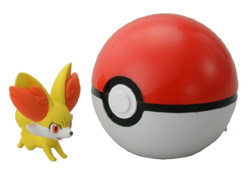 Takaratomy Pokemon Monster Collection B-02 Monster Ball & Fennekin