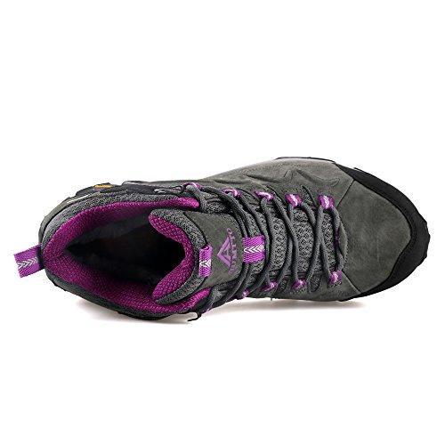 Shoe Trekking Shoes HUMTTO Hiking Outdoors Women Gray 6520 7qzZw