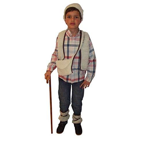 Atosa-32148 Disfraz Pastor Niño Infantil, Color blanco, 3 A 4 Anos ...