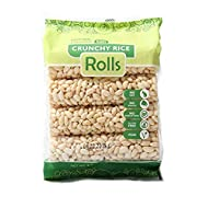 Kim's Magic Pop Crunch Rolls Rice Flavored Snack - Gluten Free, Vegan, All Natural (1 Pack of 8 Rolls)
