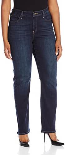 Levi's Women's Plus Size 414 Relaxed Straight Fit Jeans