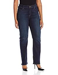 Women's Plus-Size 414 Classic Straight Jean