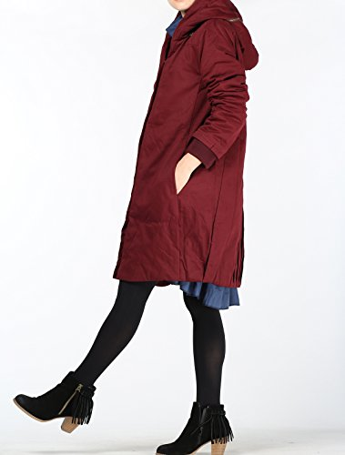 Style1 Donna Matchlife Cappotto Cappotto wein wein Donna Cappotto Style1 Matchlife Matchlife wqETznPxU